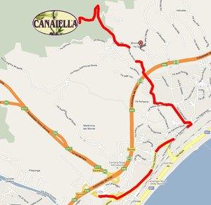 Mappa Canaiella