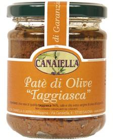 pate di olive taggiasca canaiella